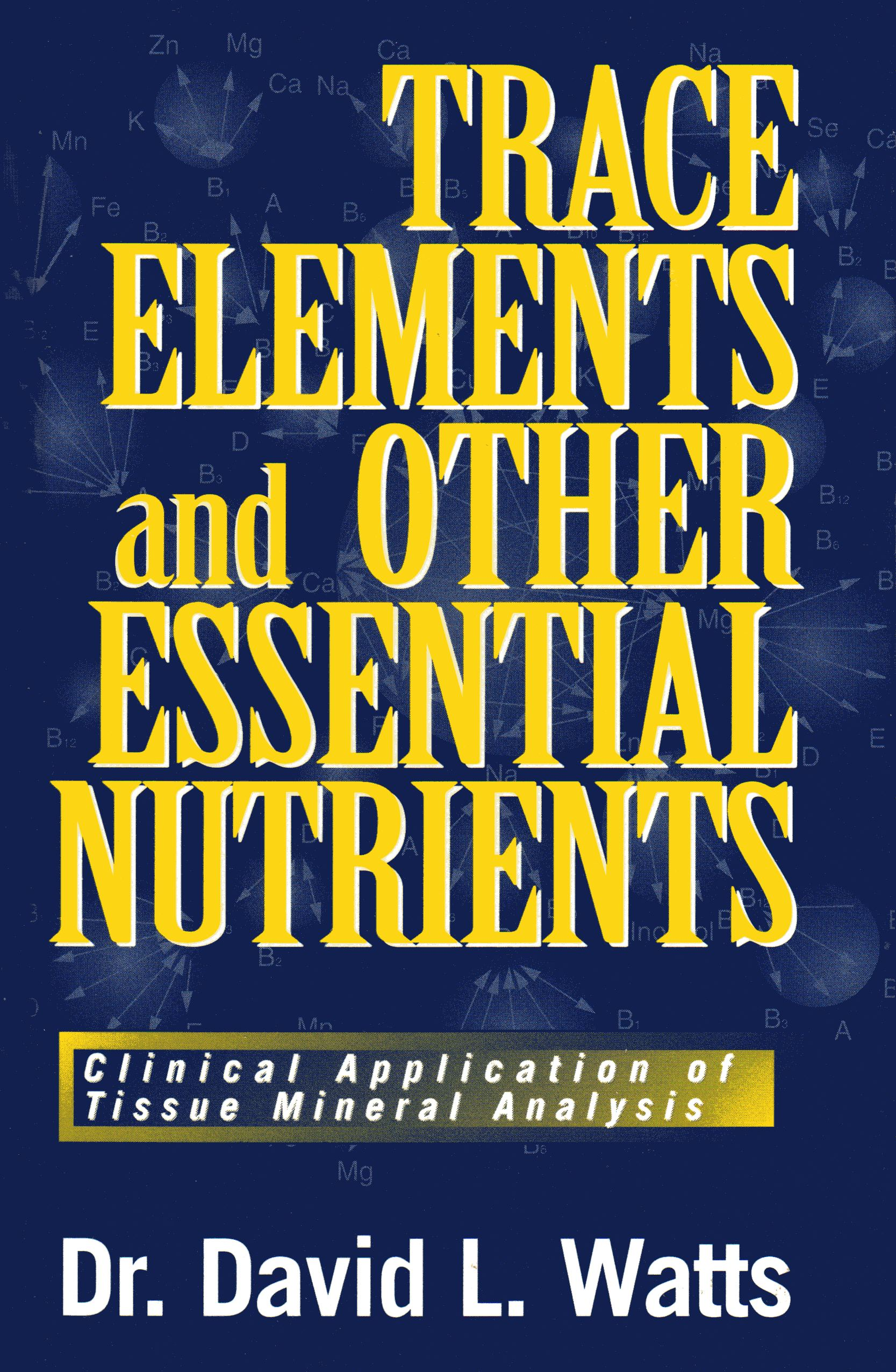 Trace Elements Mineral Associations Book